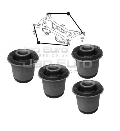 Adapté à Nissan Xtrail 01-07 T30 Berceau Arrière Montage Axe Support Moyeu 4x