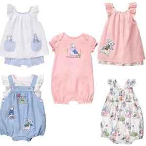 95680d289be5 Gymboree Peter Rabbit 3-6-12-18 mo Dress 2 Piece Romper Pink Girl ...