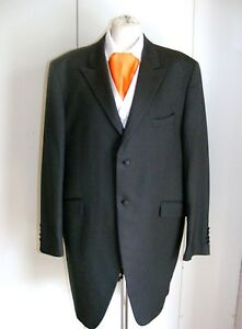 Wilvorst-slate-grey-pinstripe-frockcoat-Prince-Edward-wedding-wear-formal-wear