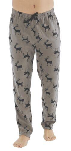 Mens Winter Micro Fleece Lounge Pants Pyjama Bottoms