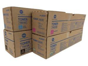 Konica-Minolta-Bizhub-TN-616-Complete-Toner-Cartridge-Set
