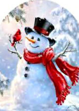 20 water slide transfer full nail Christmas snowman 4 sizes Trending