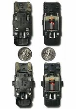 2 Versions MICRO SCALEXTRIC 1/64 HO SLOT CAR Braided Pickup Slot Car CHASSIS 12V