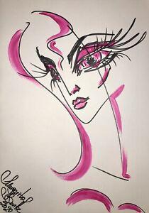 Margarita-Bonke-Malerei-PAINTING-art-Bild-erotica-erotika-akt-abstract-Pink-Nu