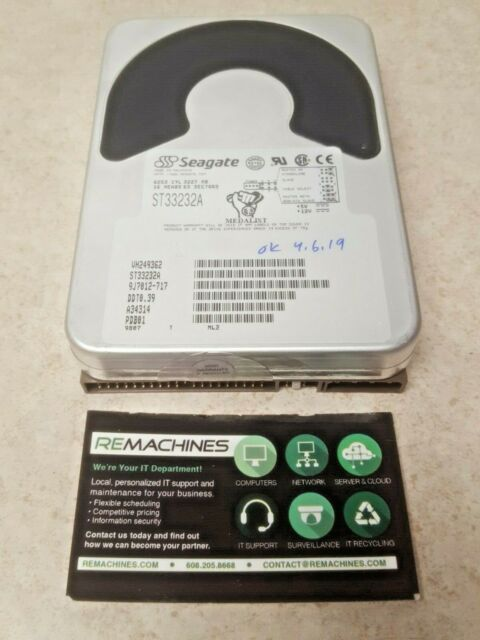 SEAGATE  MEDALIST ST33232A IDE 3.2GB HDD TESTED FREE SHIPPING!