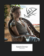 GAME OF THRONES - MARGAERY TYRELL (Natalie Dormer) #2 Signed 10x8 Mounted Photo