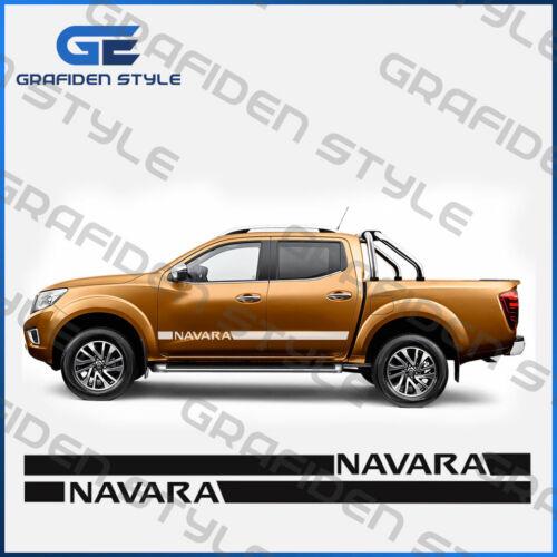 1 Paar NISSAN NAVARA Auto Seiten Aufkleber Decal Sticker Car !/</>!/</>!