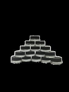 5ml Thin Bottom Glass Jar 100 Units