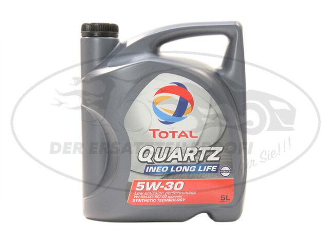 Total Motoröl 5L Quartz Ineo Long Life 5W-30 50400 50700 ACEA A3/B4 C3 229.51