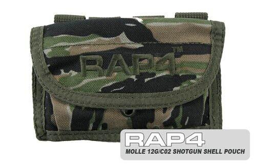AR2 Tiger Stripe MOLLE Shotgun Shell 12g CO2