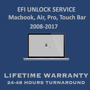 Details about MacBook EFI Firmware Password Lock Removal for all 2008-2017