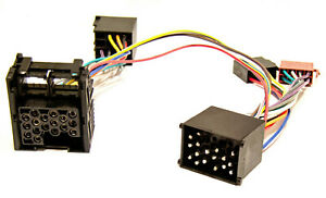 Parrot-THB-Radio-Adapter-ISO-Rundpin-Handsfree-Adapter-BMW-E36-E46-E38-E39-Rover