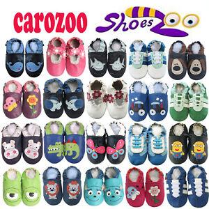 Carozoo-DEGR-Leder-Kinderkrippe-Schuhe-Jungen-und-Maedchen-bis-zu-4-Jahre-alt