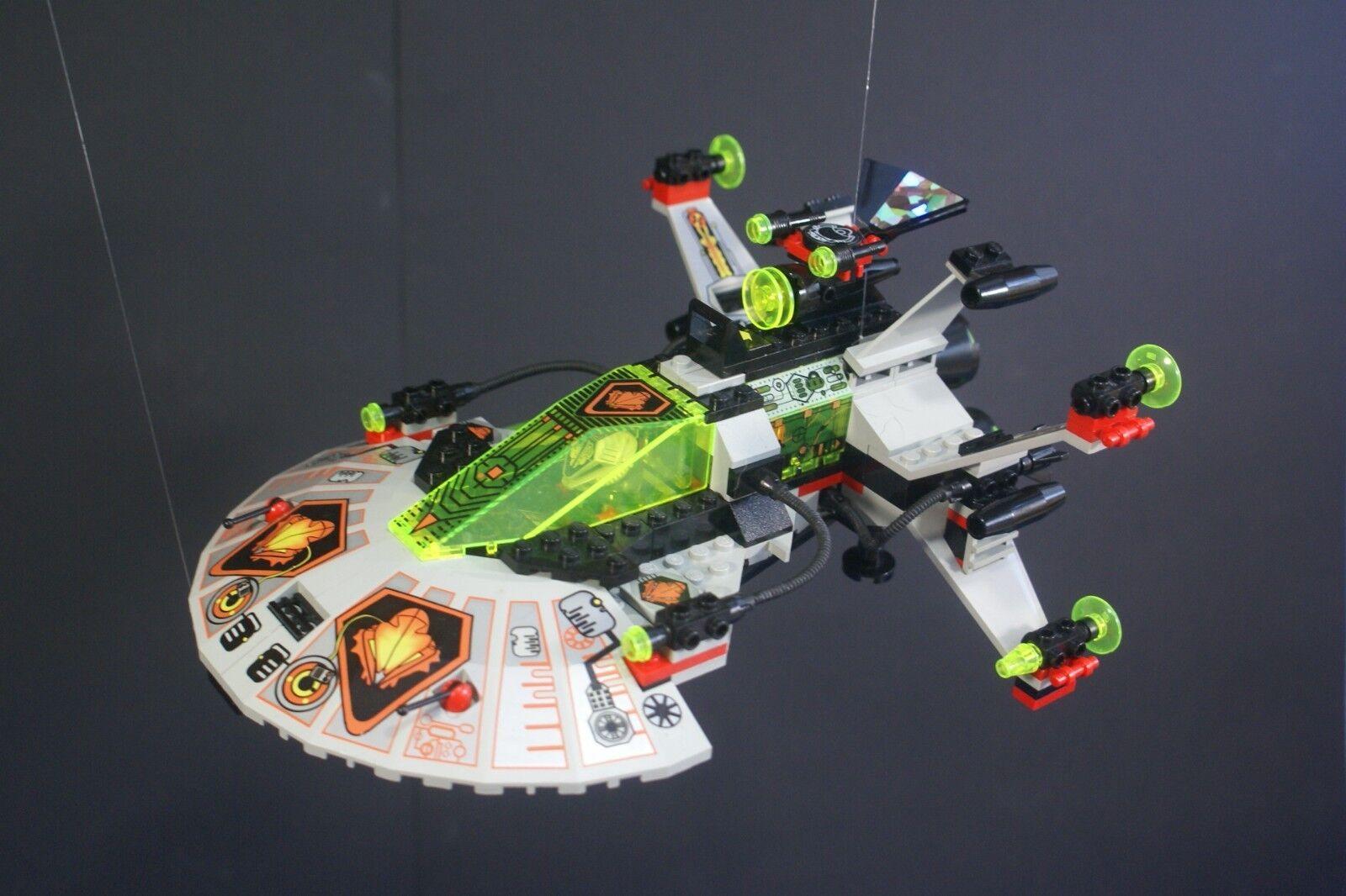 VINTAGE VINTAGE VINTAGE LEGO SYSTEM 6915 SPACE WARP WING FIGHTER 100% COMPLETE ccd0ab