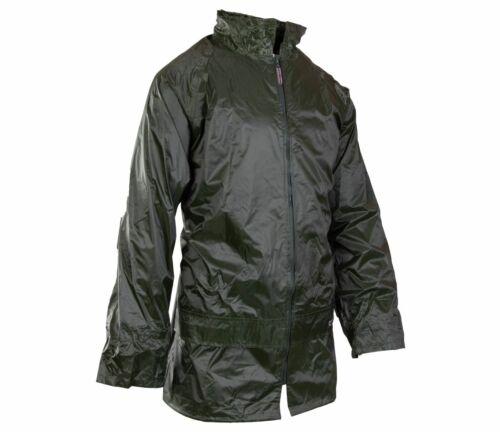 Grosvenor Nylon Regenmantel Fahrradjacke Jacke Regenbekleidung wasserdicht grün