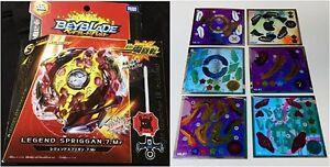 NEW Takara Legend Spriggan. 7. Mr & Beyblade Burst Customized Seal Collection