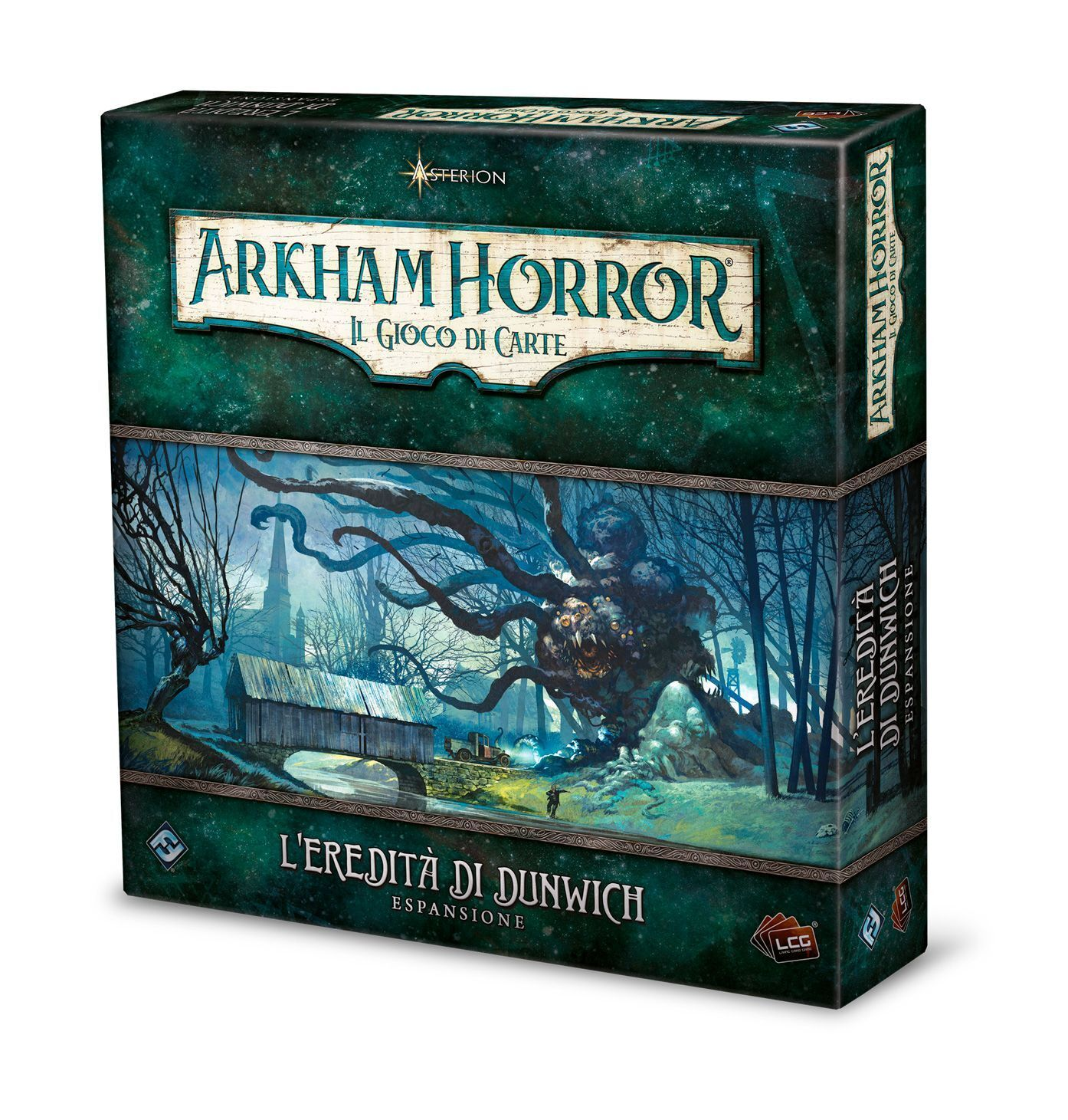 Arkham Horror the Game Cards, LCG, L'Inheritance of Dunwich, Expansion, Italiano