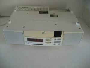 Ge Spacemaker 7 4290 Under Cabinet Am Fm Stereo Clock Radio Cd