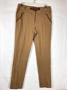 b659a8d9e1 Luisa Spagnoli Women's Pants Size Italy 44 US 8 Khaki Nude Beige ...