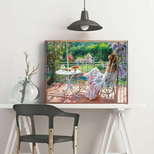 5D Garden Diamond Painting Beautiful Scenery Woman Decorations Design Embroidery