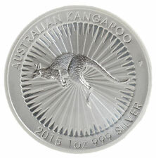 2015 Australian Kangaroo 1 oz .999 Fine Silver by Perth Mint-Mintage only 300K