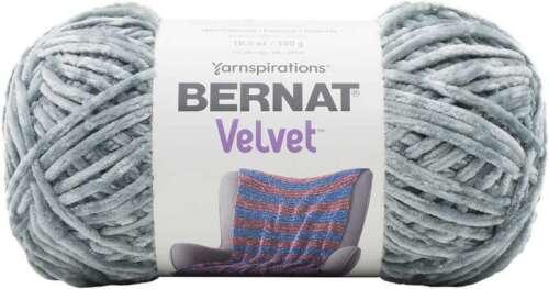 Bernat Velvet Yarn Smokey Green 057355434455