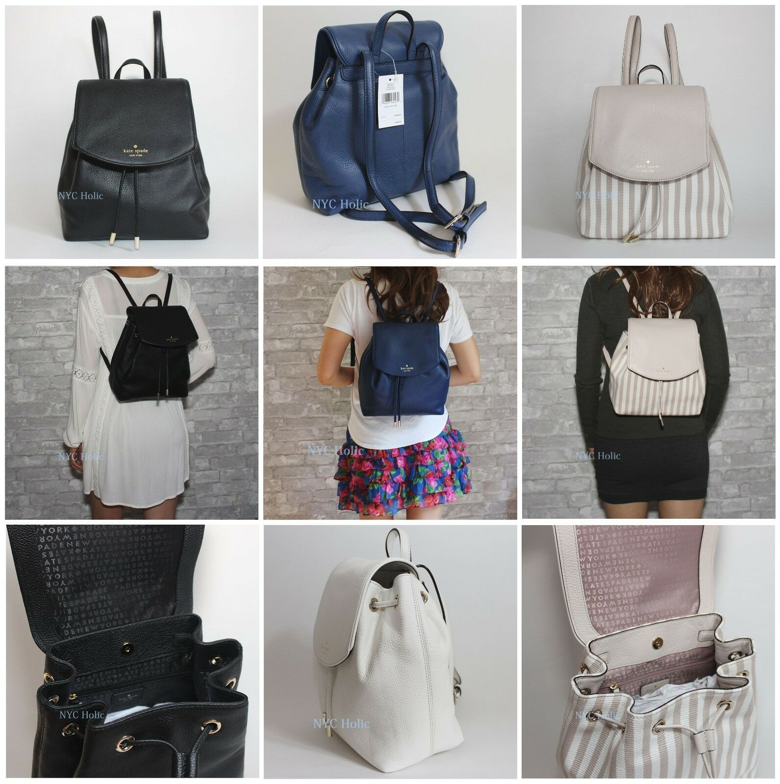 d590e620c8732 New Kate Spade Small Breezy Mulberry Street Backpack Bag WKRU3939 ...