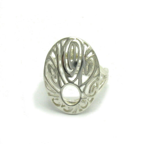 Stylish sterling silver ring hallmarked solid 925 adjustable size R001419