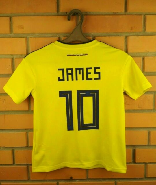 sale retailer 67769 827fc 5/5 James Colombia Jersey Kids 9-10 Years 2018 Home Shirt BR3509 adidas Ig93