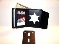 Recovery Agent Badge Id Wallet Recessed 2 1/4 Circle Cut Out Ct-10