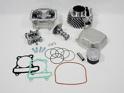 172cc *61mm* BIG BORE KIT # 4 FOR CHINESE SCOOTERS WITH 150cc GY6 MOTORS