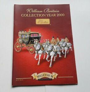 CATALOGUE-WILLIAM-BRITAIN-COLLECTION-2000-FIGURINE-SOLDAT