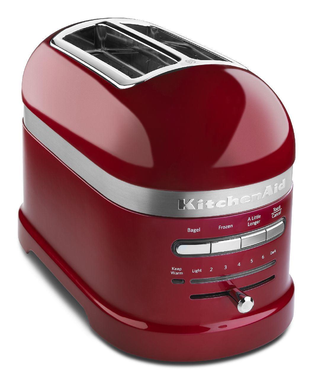 KitchenAid Proline 2 Slice Toaster - Candy Apple rouge