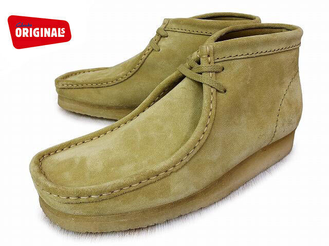 Clarks Originals Womens Wallabee Boots Maple Suede D