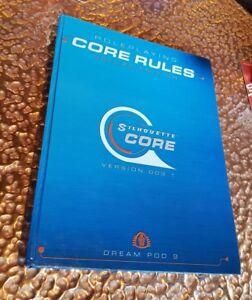 Silhouette Core Règles du jeu de rôle Édition de luxe Version 0003.1 Dream Pod 9 Rpg