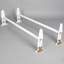 Adjustable Van Roof Ladder Rack 500LBS Chevy Dodge Ford GMC Express 77'' New
