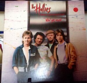THE-HOLLIES-What-Goes-Around-Album-Released-1983-Vinyl-Record-Collection-USA