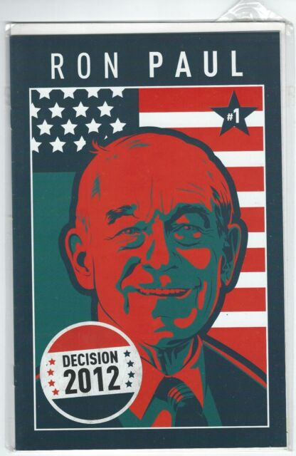 Decision 2012 Ron Paul #1 Nov. 2011 Boom Studios US Presidential Campaign Comic