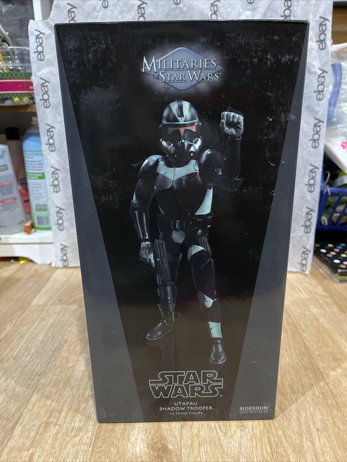 Sideshow Collectibles 1/6 figure Utapau Shadow Trooper Militaries of Star Wars on eBay thumbnail