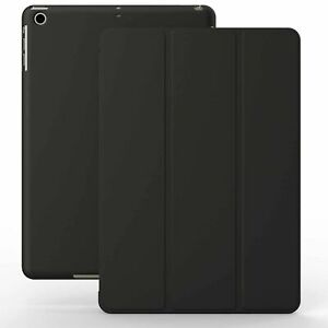 Etui iPad 9.7 2017 et 2018 NOIR - KHOMO® Slim Protection pour tablette Apple