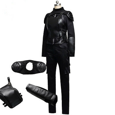 New Customized The Hunger Games Heroine Katniss Hobbit Cosplay Costume Suit