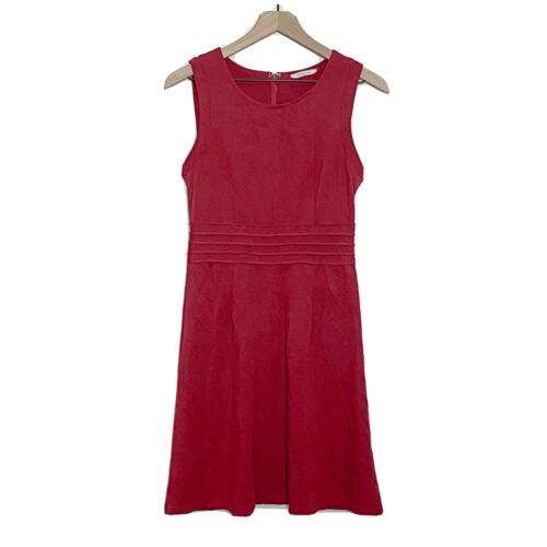 41 Hawthorn Womens Red Dita A-Line Sleeveless Pont