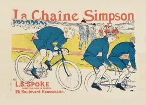 Le-Chaine-Simpson-1896-von-Henri-Toulouse-Lautrec-Belle-Epoque-Radfahren-Poster