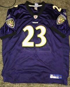 Details about Authentic Baltimore Ravens Willis McGahee #23 Football Jersey Men's 54 - Purple