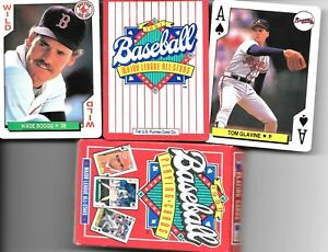 MAJOR LEAGUE ALL-STARS BASEBALL PLAYING CARDS 1991