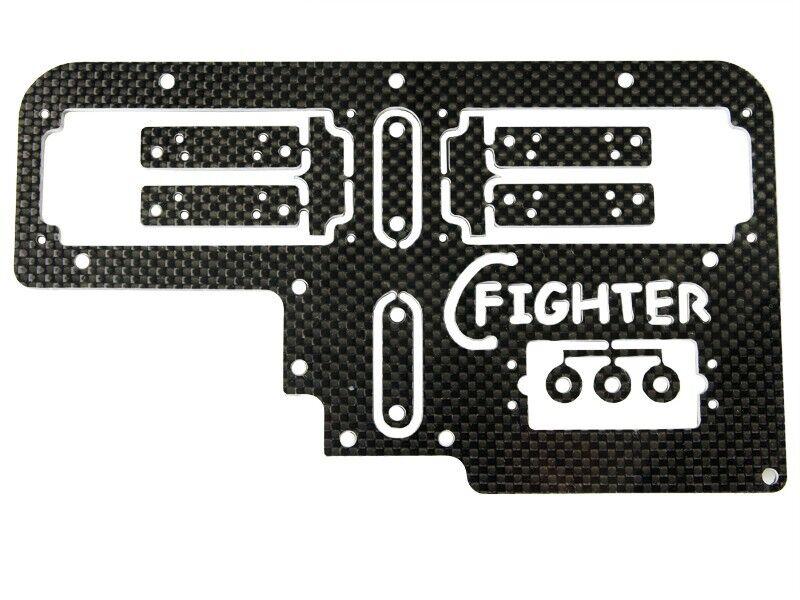 Radioplatte für 2 Servos REELY Carbon Fighter Breaker HD Tuning