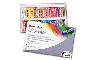 Pentel Pastels à Huile Clair Couleurs Assorties - Paquet De 50 Yehfi0z3-12073458-551641806