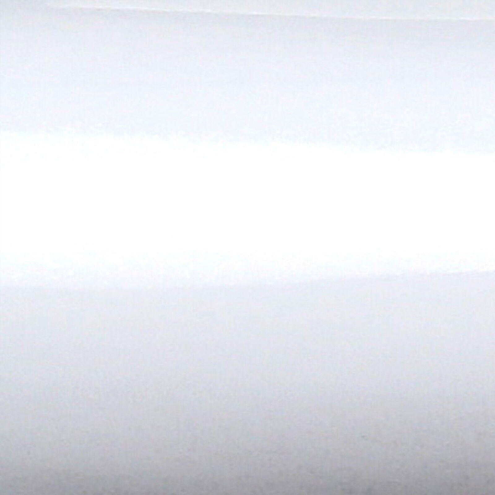Premium m² BIANCO LUCIDO AUTO Pellicola Lucida Senza Bolle Bolle Bolle Canali Aria Pellicola Wrap 0d9e05