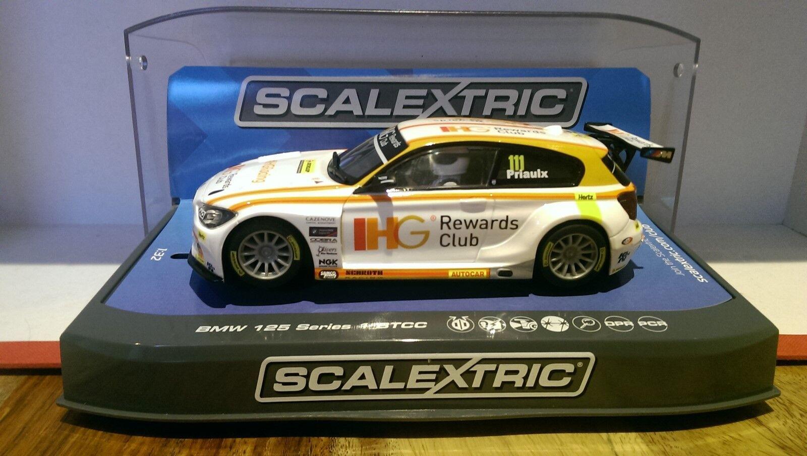 SCALEXTRIC C3784 BMW 125 Series 1 2015 BTCC IHG Andy Priaulx No.111