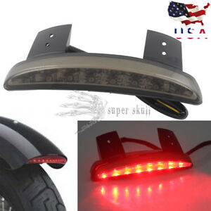 Lovely Brand New Clear Lens Rear Fender Edge Led Tail Light Fits For Harle Davidson Iron 883 Xl883n Xl1200n Chopped Free Shipping Back To Search Resultshome